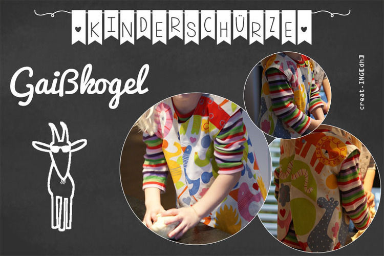 Makerist - Kinderschürze Gaißkogel - Nähprojekte - 1