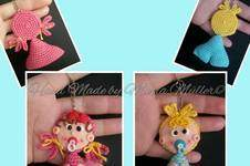 Makerist - Amigurumi Taschen / Schlüssel Anhänger Baby - 1