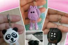 Makerist - Amigurumi Taschen / Schlüssel Anhänger Tiere - 1