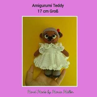 Makerist - Amigurumi Teddy Mädchen - 1