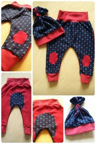 Makerist - AHOI Babyhose+Mütze - Nähprojekte - 1