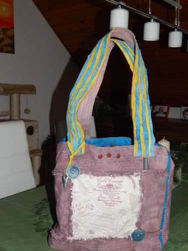 Makerist - Recyclingtasche, - Nähprojekte - 1