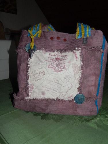Makerist - Recyclingtasche, - Nähprojekte - 3