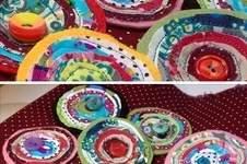 Makerist - Stoff Blüten Broschen - 1