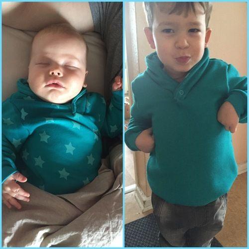 Makerist - Herz-Buben Pullover für meine Herz-Buben - Nähprojekte - 1