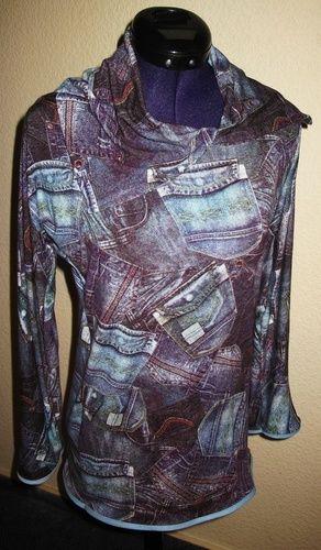 Makerist - Shirt in Jeansoptik für mich - Nähprojekte - 1