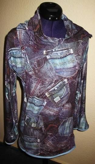 Shirt in Jeansoptik für mich