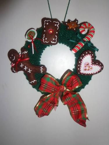 Makerist - Weihnachtlicher Türkranz - DIY-Projekte - 1