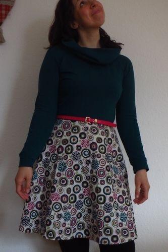 Makerist - Herbstgold - mein erstes Kleid - Nähprojekte - 1