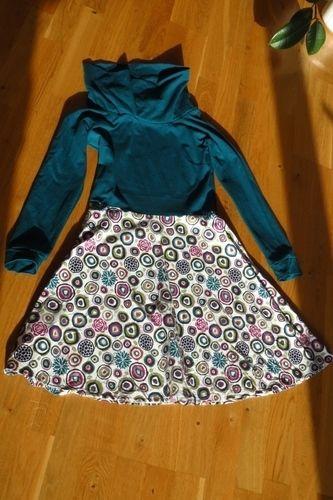 Makerist - Herbstgold - mein erstes Kleid - Nähprojekte - 2