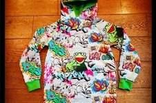 Makerist - Kermit Hoodie für Junior - 1