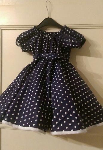 Makerist - Petticoatkleid, Baumwollstoff. Für meine Enkeltochter - Nähprojekte - 2