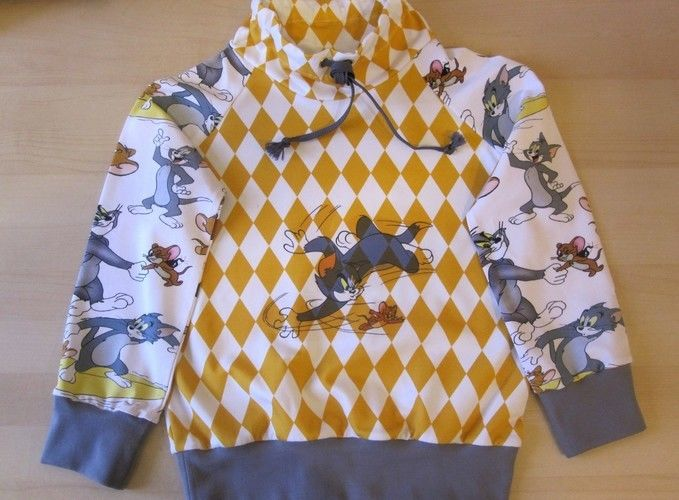 Makerist - Tom& Jerry sweater, boxer short - Nähprojekte - 1