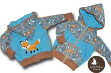 Makerist - Sweatjacke bestickt mit Fuchs für kleine Jungs  - 1