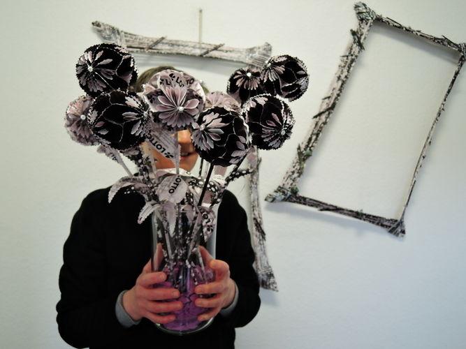Makerist - PapierBlumenDeko - DIY-Projekte - 2
