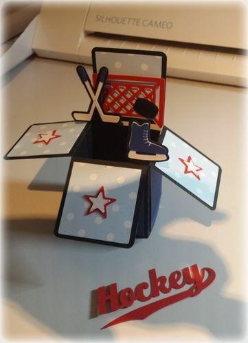 Makerist - Box für einen Hockeyfan - Werkzimmer - 1