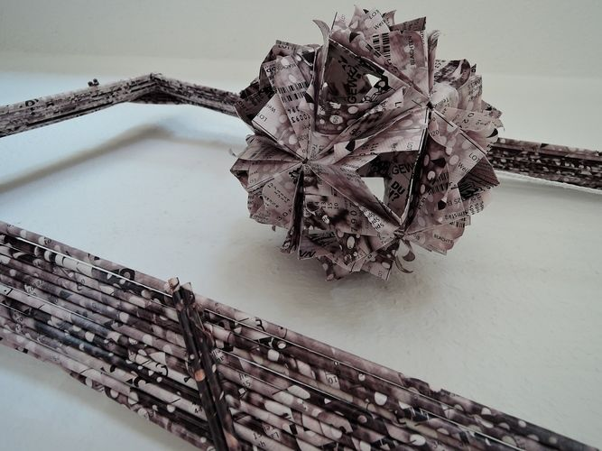 Makerist - Bilderrahmen aus Papier - DIY-Projekte - 3