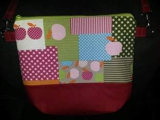 Makerist - Patchworktasche für Faule - 1