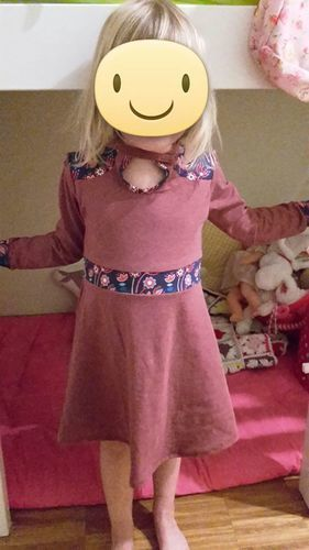 Makerist - Partykleid aus Jersey - Nähprojekte - 1