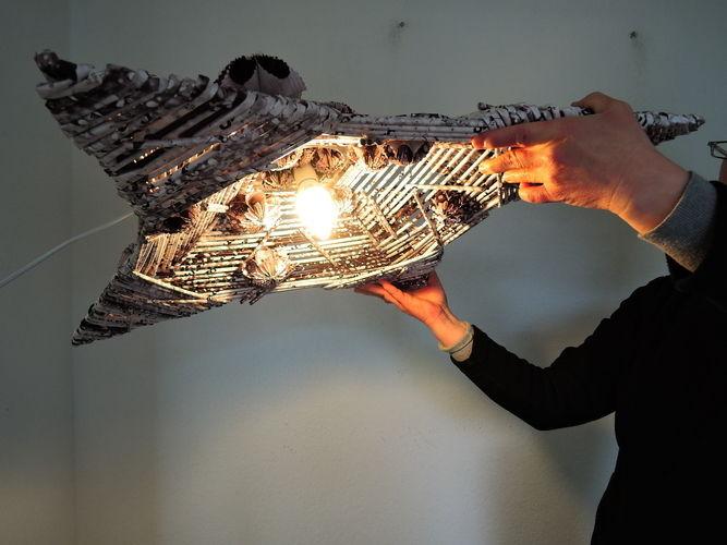 Makerist - Lampe aus Papier - DIY-Projekte - 1
