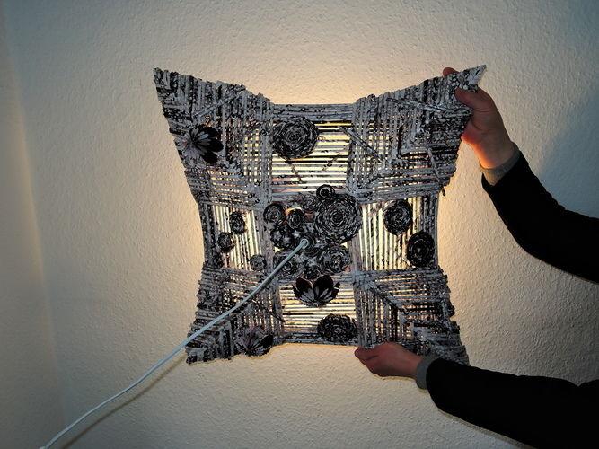 Makerist - Lampe aus Papier - DIY-Projekte - 2