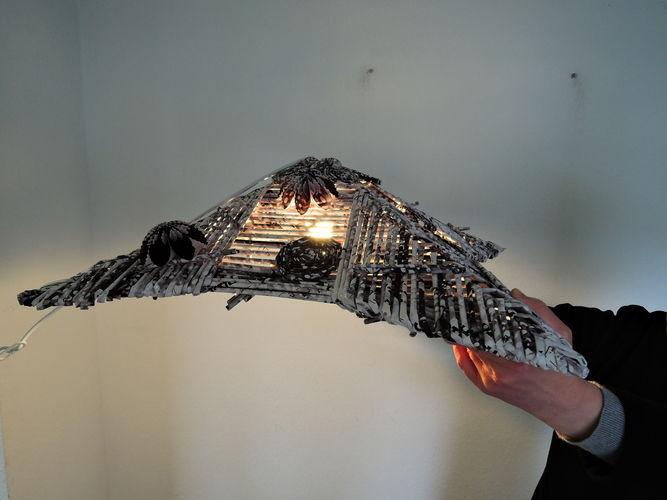 Makerist - Lampe aus Papier - DIY-Projekte - 3