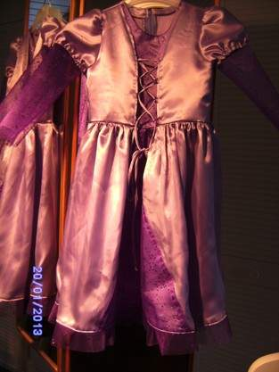 Makerist - Rapunzel Fasnachts Kleid - 1