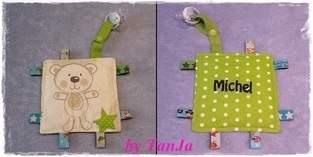 Makerist - KnisterTuch für ein Baby - 1