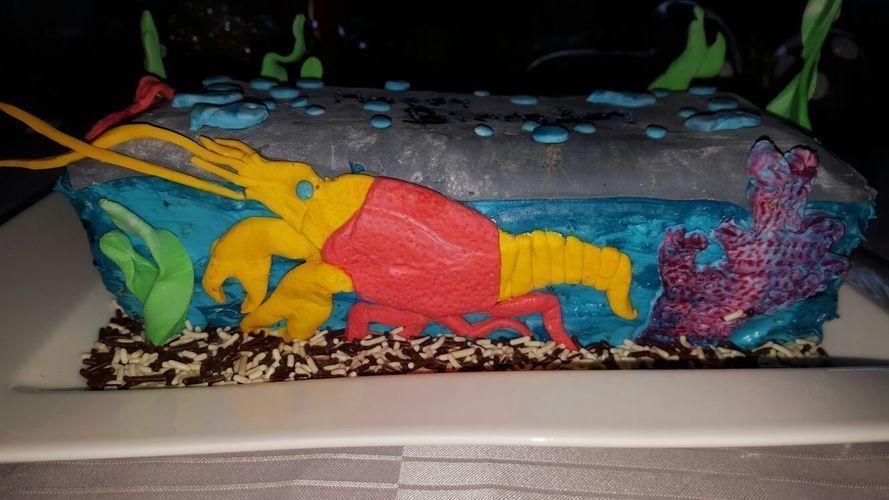 Makerist - Aquarium Motiv Torte  - Torten, Cake Pops und Cupcakes - 1