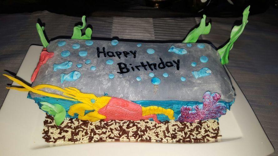 Makerist - Aquarium Motiv Torte  - Torten, Cake Pops und Cupcakes - 2
