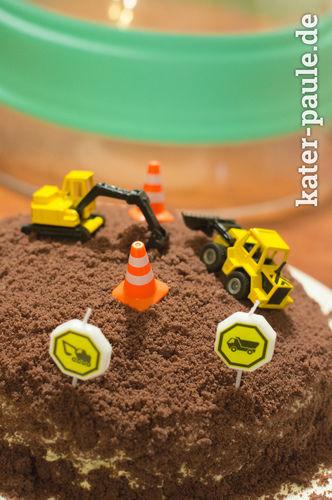 Makerist - Baustellen-Kuchen  - Torten, Cake Pops und Cupcakes - 1