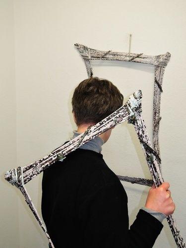 Makerist - Bilderrahmen aus Papierröllchen - DIY-Projekte - 1