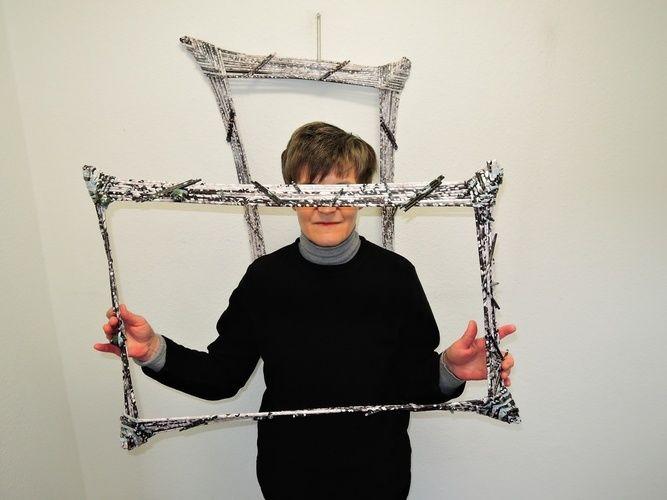 Makerist - Bilderrahmen aus Papierröllchen - DIY-Projekte - 2
