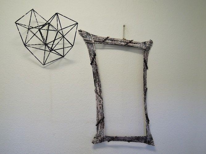 Makerist - Bilderrahmen aus Papierröllchen - DIY-Projekte - 3