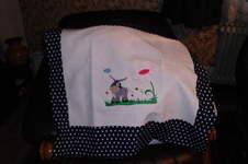 Makerist - Kinderwagenkissen aus Baumwolle und Leinen - 1
