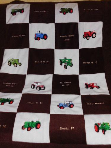 Makerist - Patchworkdecke aus Flecce - Textilgestaltung - 1