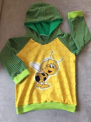 Makerist - Kinderhoodie Biene Maja  - 1