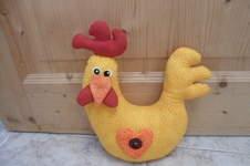 Makerist - Verrücktes Huhn als Türstopper - 1