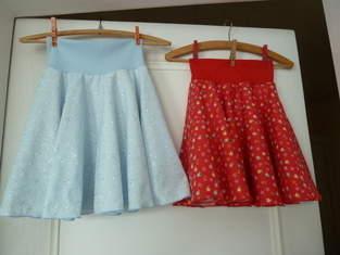 Tellerröckchen und Sommerkleidche