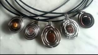 Makerist - Kettenanhänger aus Aludraht  - 1
