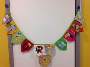 Makerist - Geburtstagsgirlande mit auswechselbaren Zahlen - 1