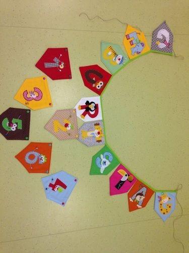 Makerist - Geburtstagsgirlande mit auswechselbaren Zahlen - Nähprojekte - 2