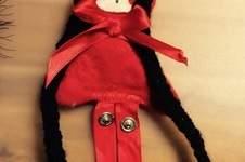 Makerist - Haarspangenpuppe Rotkäppchen - 1