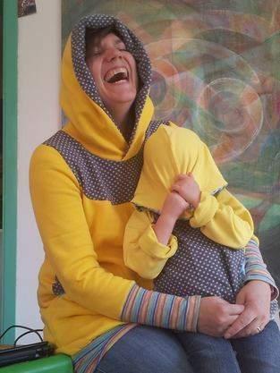 Gelb Gelber Am-aller-Gelbsten (Kuschelhoodie Kids und Kapuziert)