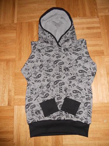 Makerist - kapuzen-sweater in gr. 158 - Nähprojekte - 1