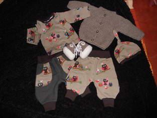 Makerist - baby-garnitur in gr. 56 - 1