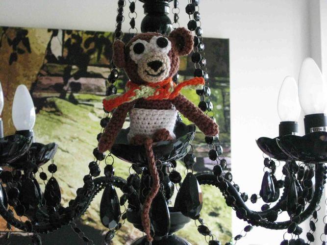 Makerist - Äffchen Philippo im Kronleuchter - Häkelprojekte - 1