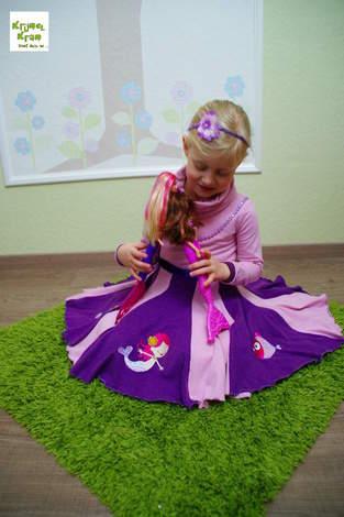 Geburtstagskleid für unsere Große alias WinterWunderKleid