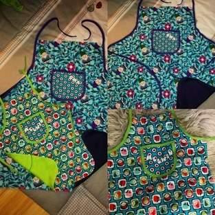 Makerist - Zwillingsschürzen für Oma und Enkel - 1
