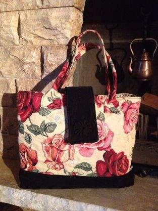 Makerist - Tasche - Rote Rosen -  - 1